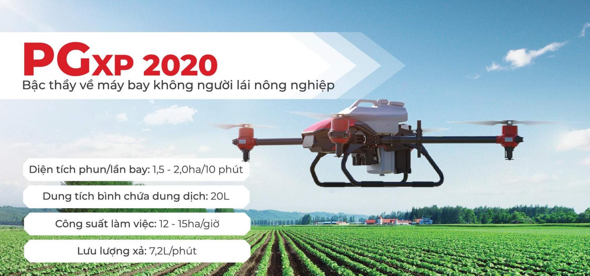 PGxp-2020 - Bậc thầy máy bay nông nghiệp
