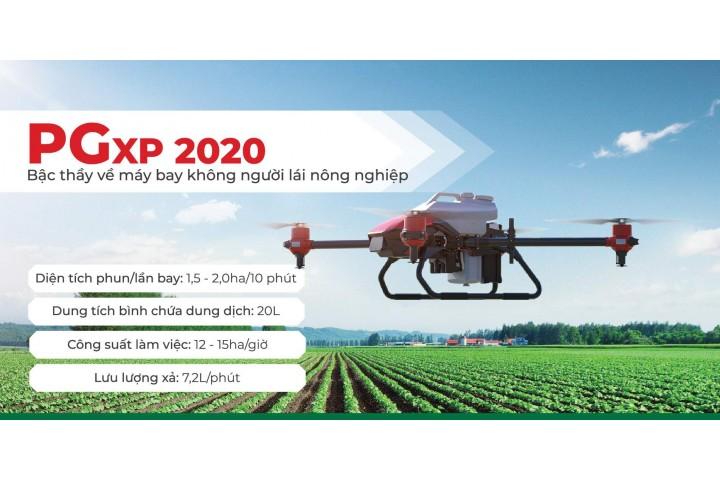 Review máy bay nông nghiệp 3 trong 1 PGxp 2020