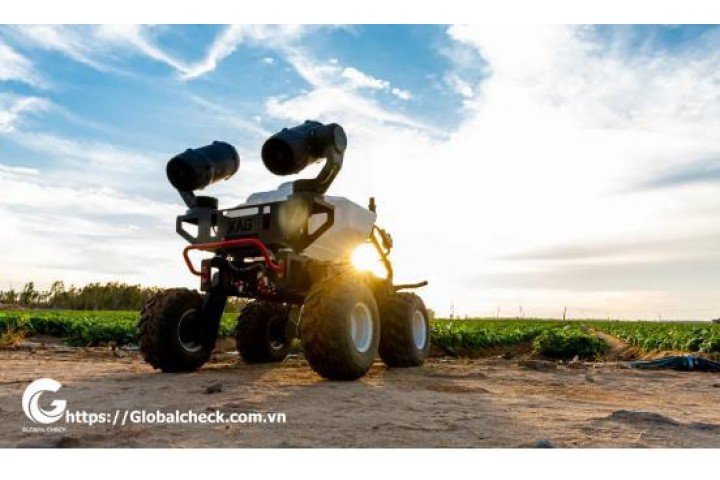 Robot nông nghiệp phun thuốc trừ sâu RG150  là gì?