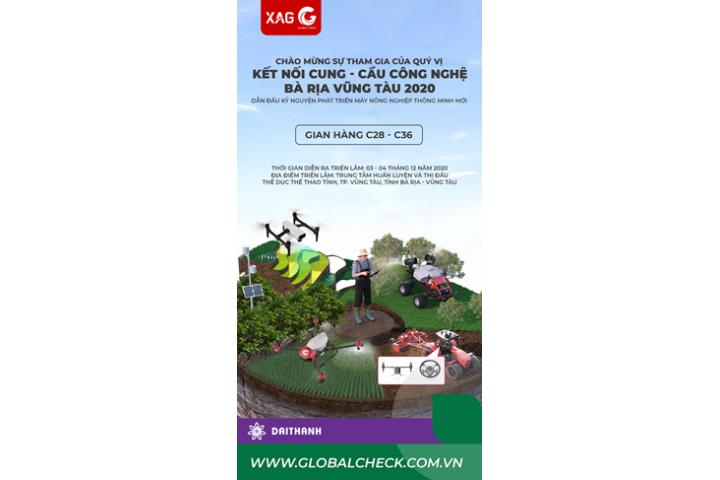 """Hội chợ công nghệ tỉnh Bà Rịa Vũng Tàu giới thiệu về phát triển """"Hệ sinh thái nông nghiệp thông minh"""""""