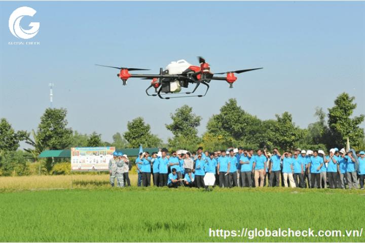 Các loại UAV phun thuốc trừ sâu công nghệ mới cho hiệu quả nhất ở Việt Nam