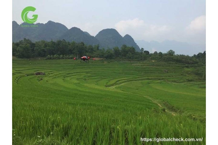 Máy bay nông nghiệp PGxp 2020 đã đến với Thọ Xuân - Thanh Hóa