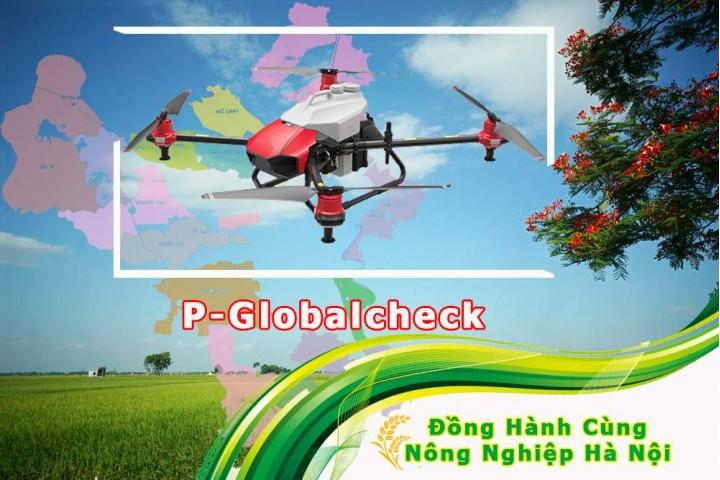 Máy bay phun thuốc BVTV, xứng tầm nông nghiệp thủ đô Hà Nội