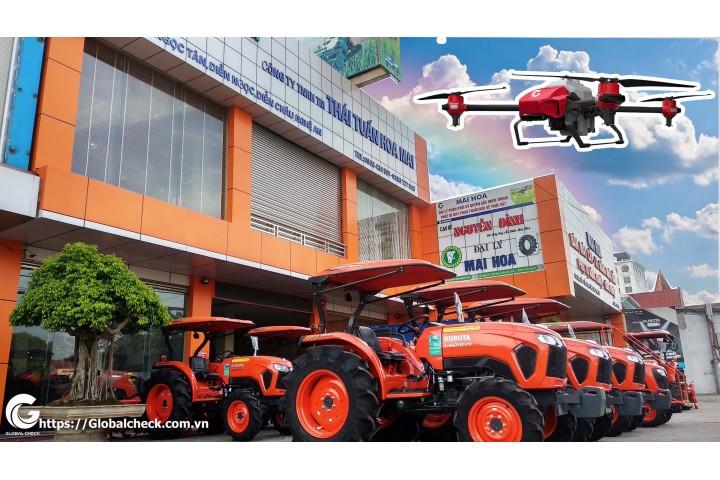 Đại lý chính thức máy bay phun thuốc P-Globalcheck tại Diễn Châu