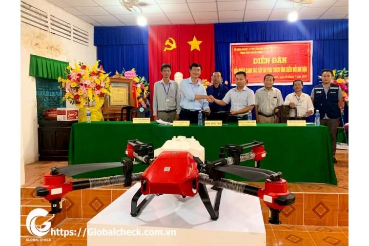 """UAV trong diễn đàn """"Giải pháp canh tác cây trồng thích ứng với biến đổi khí hậu"""""""