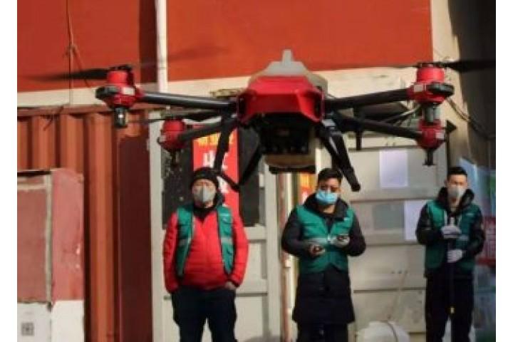 TRUNG QUỐC SỬ DỤNG DRONE NHƯ MỘT CÔNG CỤ ĐẮC LỰC CHỐNG LẠI VIRUS CORONA