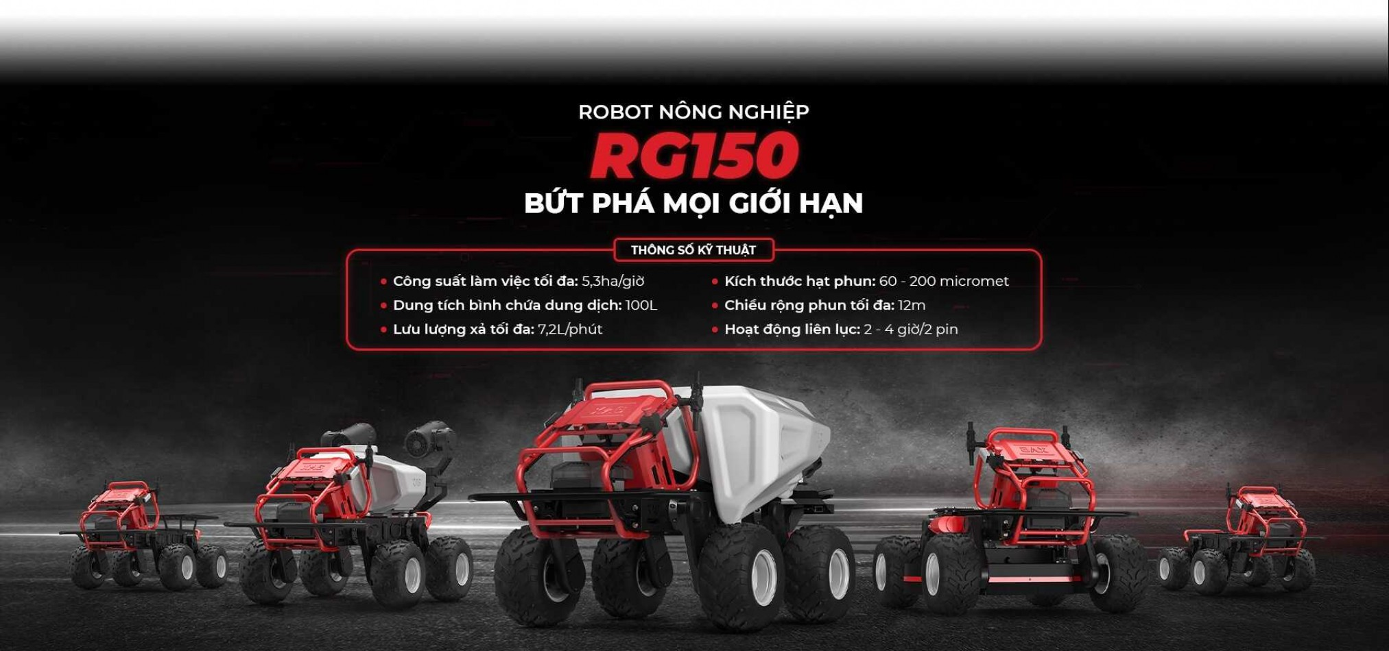 Địa chỉ bán robot phun thuốc nông nghiệp tại Việt Nam