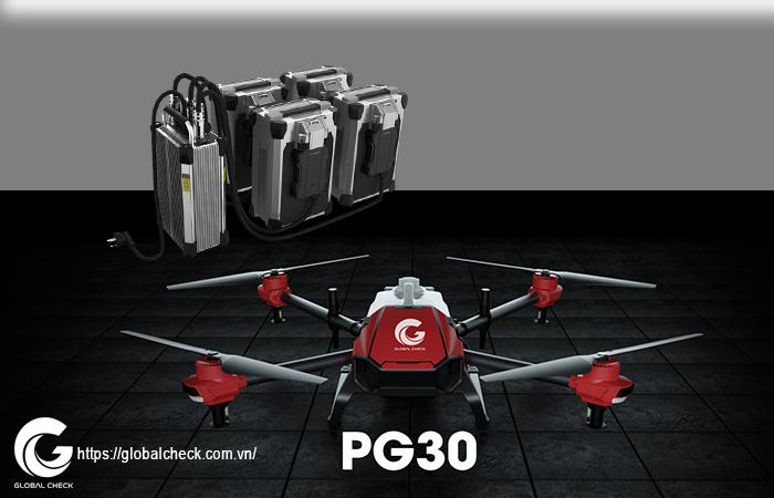 Hệ thống sạc 4 Pin tối ưu cho các dòng máy bay nông nghiệp Globalcheck